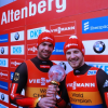 Erste in Altenberg und im Gesamtweltcup: die deutschen Doppelsitzer Tobias Wendl und Tobias Arlt. Foto: Harder